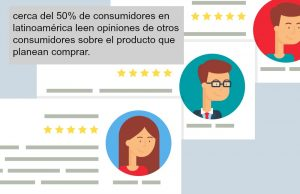 More than 50% of customers in Latin America read reviews and comments before deciding on a purchase.